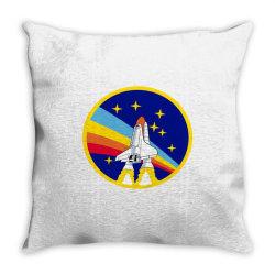 rocket space Throw Pillow | Artistshot