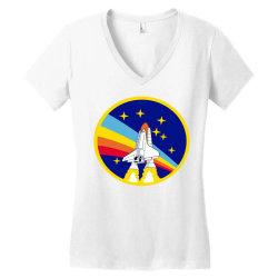 rocket space Women's V-Neck T-Shirt | Artistshot