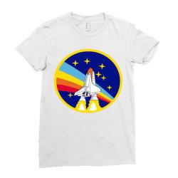 rocket space Ladies Fitted T-Shirt | Artistshot