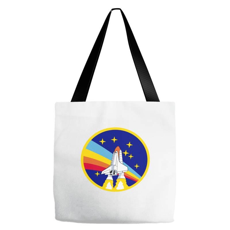 Rocket Space Tote Bags   Artistshot