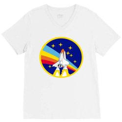 rocket space V-Neck Tee | Artistshot