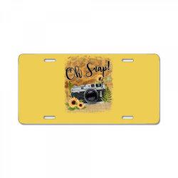 oh snap License Plate | Artistshot