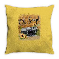 oh snap Throw Pillow | Artistshot