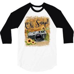 oh snap 3/4 Sleeve Shirt | Artistshot