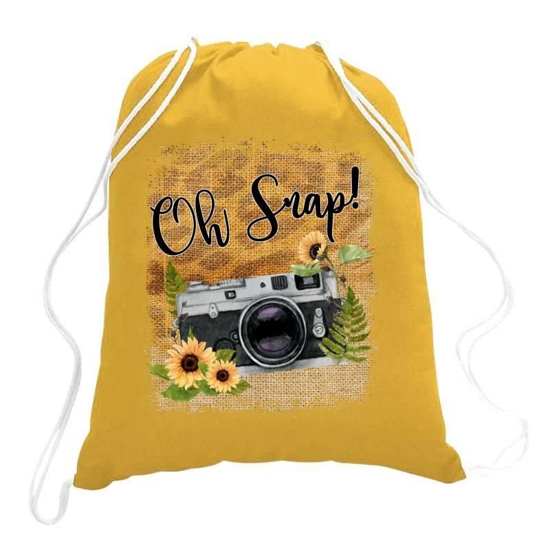 Oh Snap Drawstring Bags   Artistshot
