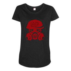 Skyler Maternity Scoop Neck T-shirt   Artistshot