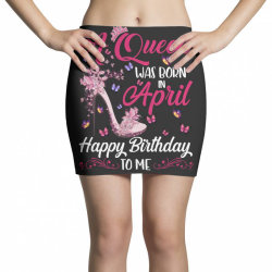 a queen was born in february happy birthday to me Mini Skirts | Artistshot