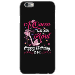 a queen was born in february happy birthday to me iPhone 6/6s Case | Artistshot