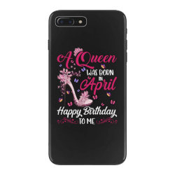 a queen was born in february happy birthday to me iPhone 7 Plus Case | Artistshot