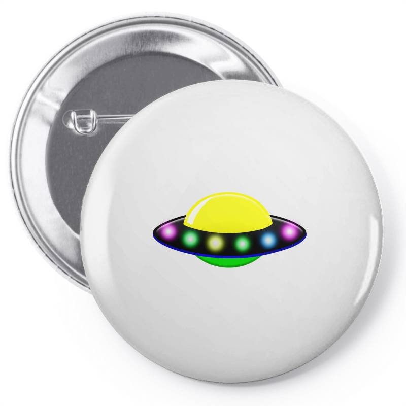 Rocket Astronaut Ufo Planets Space Pin-back Button | Artistshot