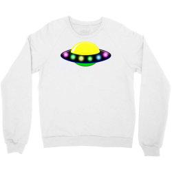 rocket astronaut ufo planets space Crewneck Sweatshirt | Artistshot