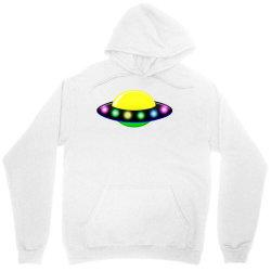 rocket astronaut ufo planets space Unisex Hoodie | Artistshot