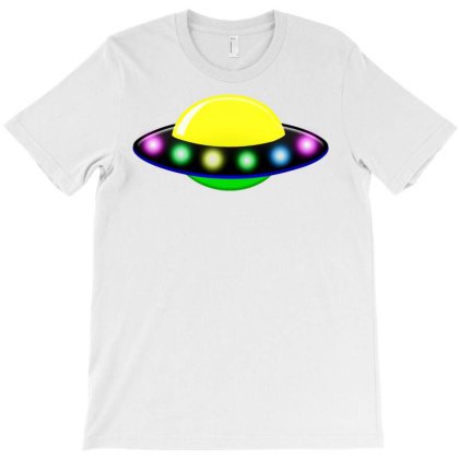 Rocket Astronaut Ufo Planets Space T-shirt Designed By Salmanaz