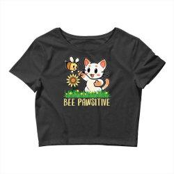 bee pawsitive Crop Top | Artistshot