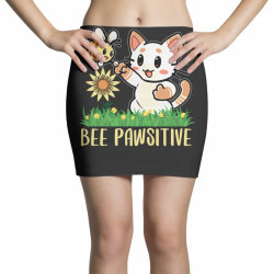 bee pawsitive Mini Skirts | Artistshot