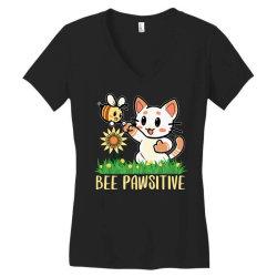 bee pawsitive Women's V-Neck T-Shirt | Artistshot