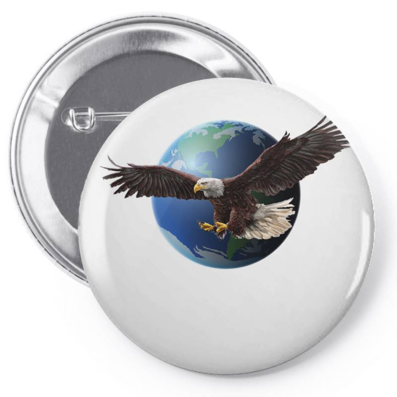 Adler Earth Globus Globe Global Pin-back Button | Artistshot