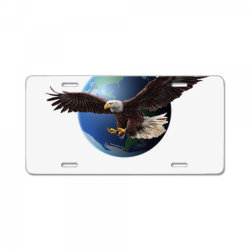 adler earth globus globe global License Plate | Artistshot