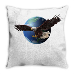 adler earth globus globe global Throw Pillow | Artistshot