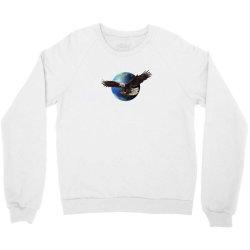 adler earth globus globe global Crewneck Sweatshirt | Artistshot