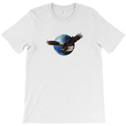 adler earth globus globe global T-Shirt | Artistshot