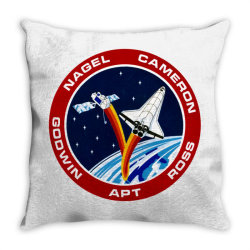 space shuttle background Throw Pillow | Artistshot