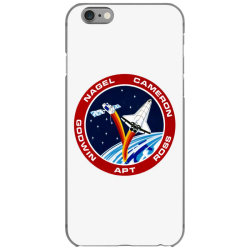space shuttle background iPhone 6/6s Case | Artistshot