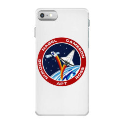 space shuttle background iPhone 7 Case | Artistshot