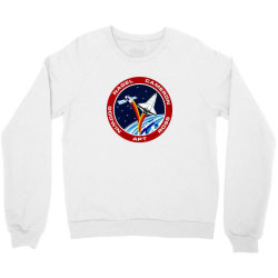 space shuttle background Crewneck Sweatshirt | Artistshot