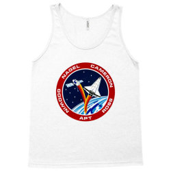 space shuttle background Tank Top | Artistshot