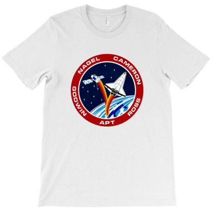 Space Shuttle Background T-shirt Designed By Salmanaz