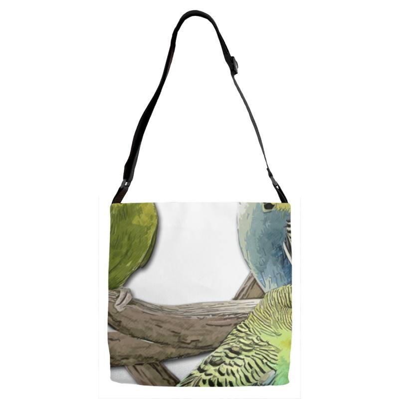 Bird Pet Budgie Parrot Animals Adjustable Strap Totes | Artistshot
