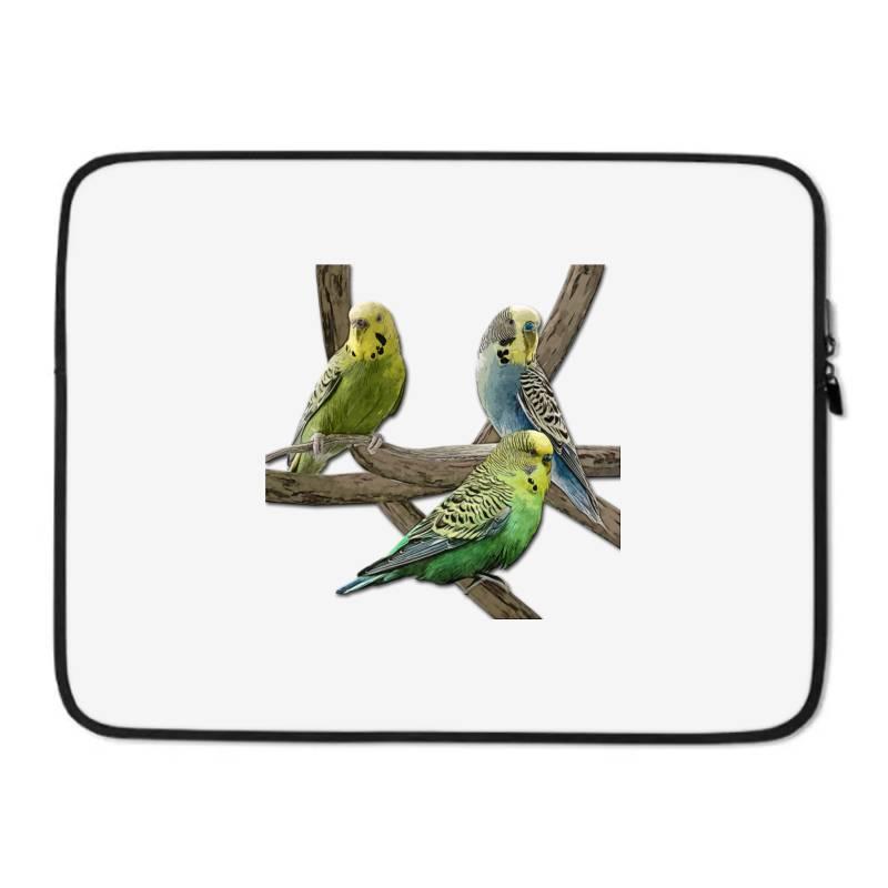 Bird Pet Budgie Parrot Animals Laptop Sleeve   Artistshot