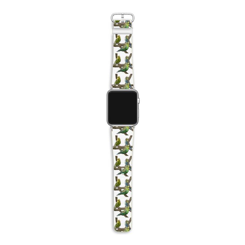 Bird Pet Budgie Parrot Animals Apple Watch Band | Artistshot