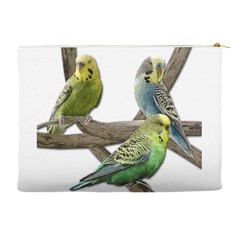 Bird Pet Budgie Parrot Animals Accessory Pouches | Artistshot