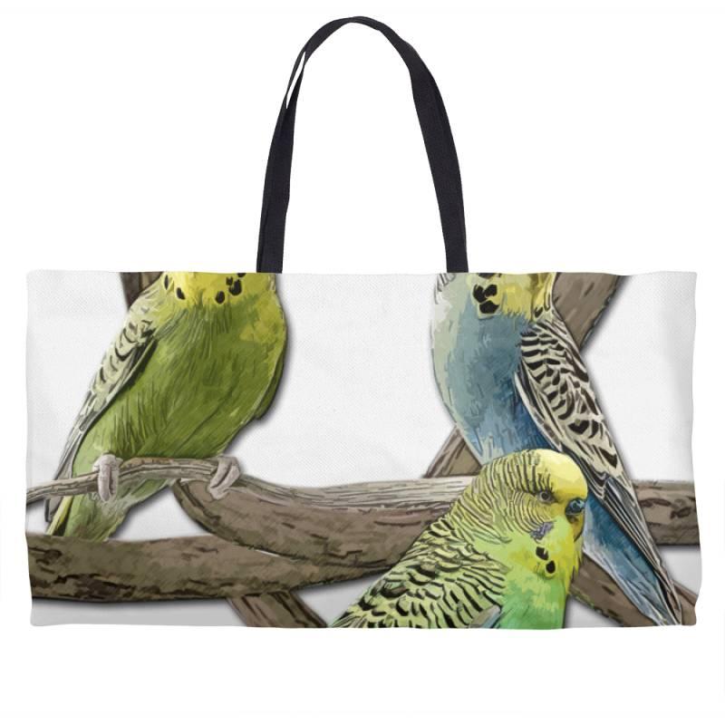 Bird Pet Budgie Parrot Animals Weekender Totes | Artistshot