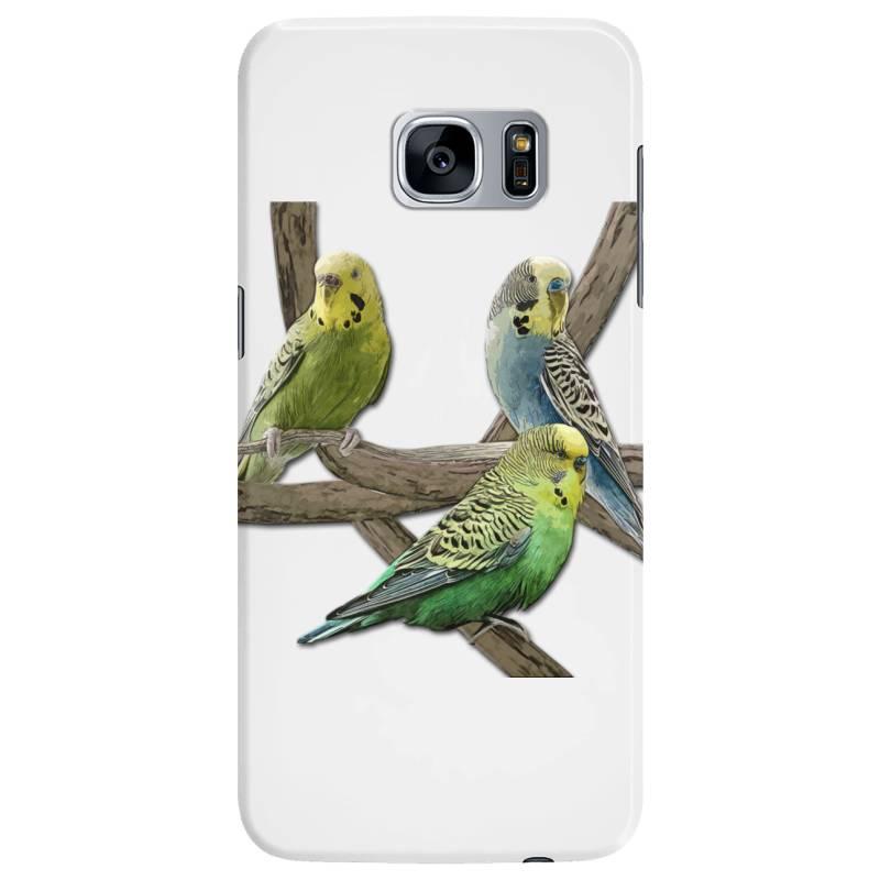 Bird Pet Budgie Parrot Animals Samsung Galaxy S7 Edge Case   Artistshot