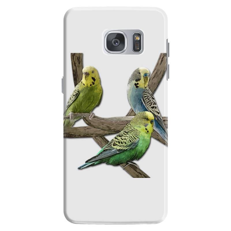 Bird Pet Budgie Parrot Animals Samsung Galaxy S7 Case | Artistshot