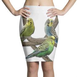 bird pet budgie parrot animals Pencil Skirts   Artistshot