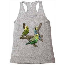 bird pet budgie parrot animals Racerback Tank   Artistshot