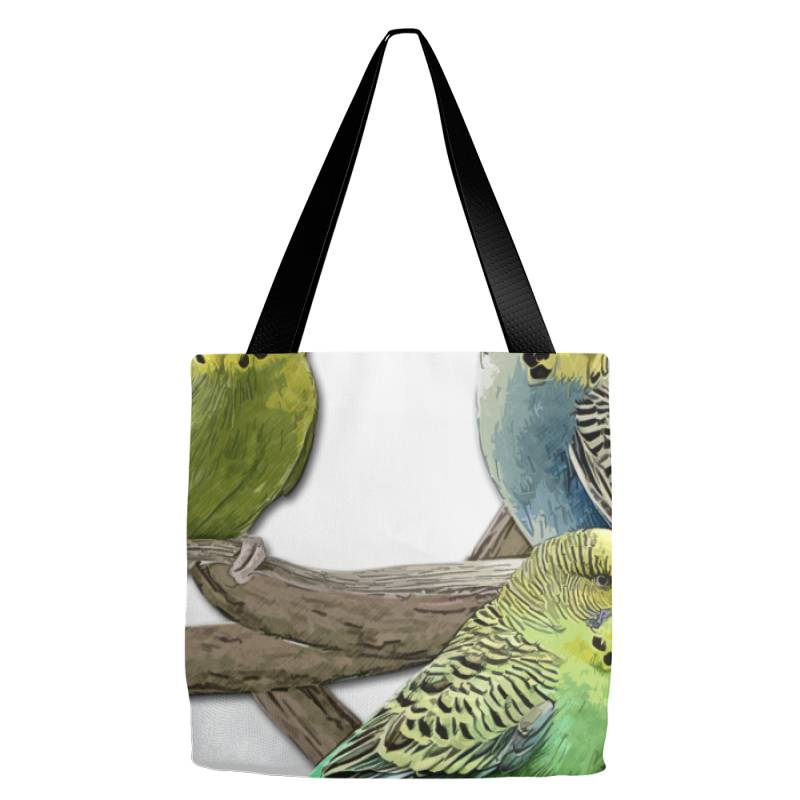 Bird Pet Budgie Parrot Animals Tote Bags | Artistshot