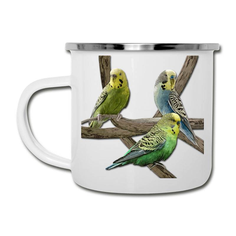 Bird Pet Budgie Parrot Animals Camper Cup | Artistshot