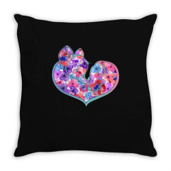 elephant and dog Throw Pillow | Artistshot