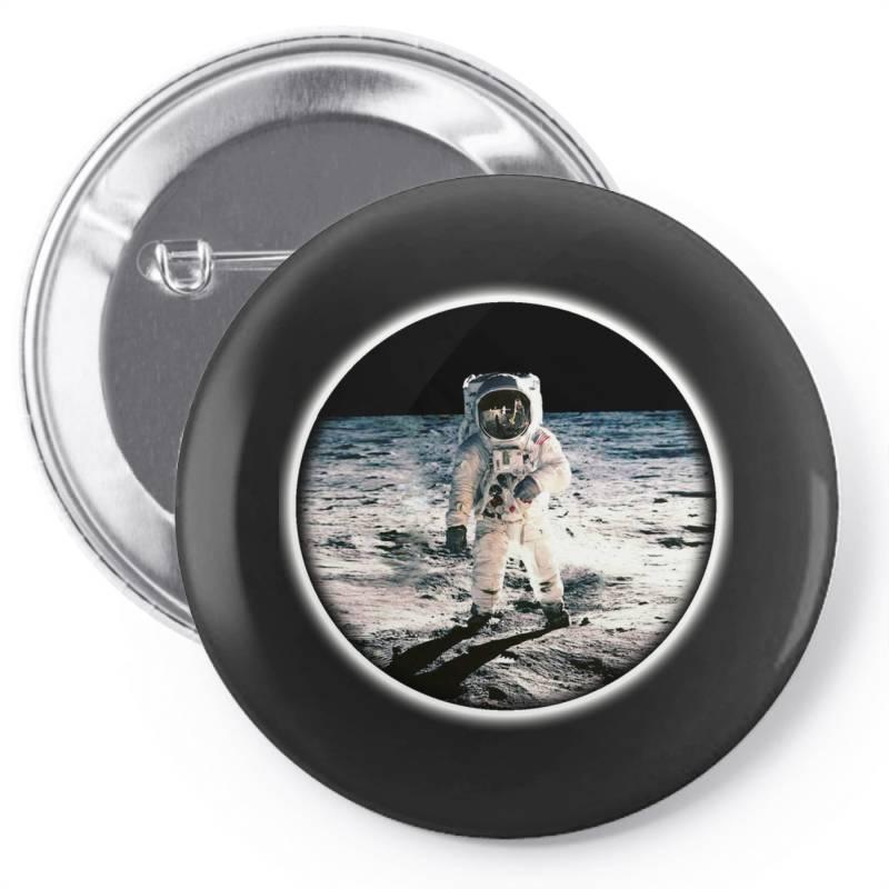Astronaut Apollo Pin-back Button | Artistshot