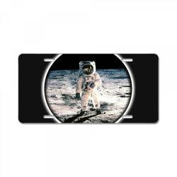astronaut apollo License Plate | Artistshot