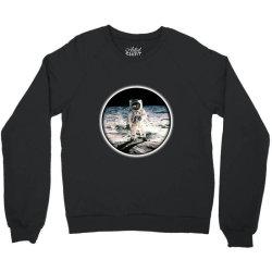 astronaut apollo Crewneck Sweatshirt   Artistshot