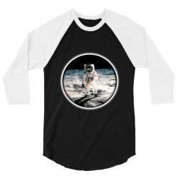 astronaut apollo 3/4 Sleeve Shirt   Artistshot