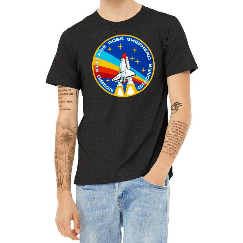 Space Shuttle Program Heather T-shirt | Artistshot