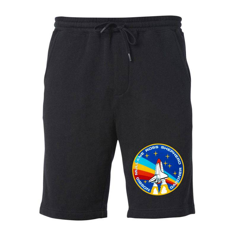 Space Shuttle Program Fleece Short | Artistshot
