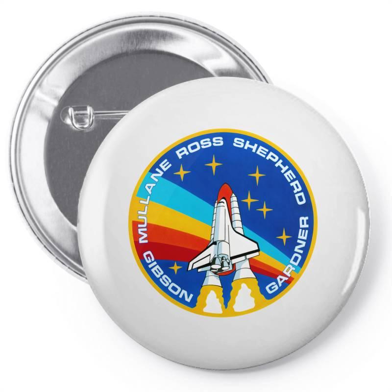 Space Shuttle Program Pin-back Button   Artistshot
